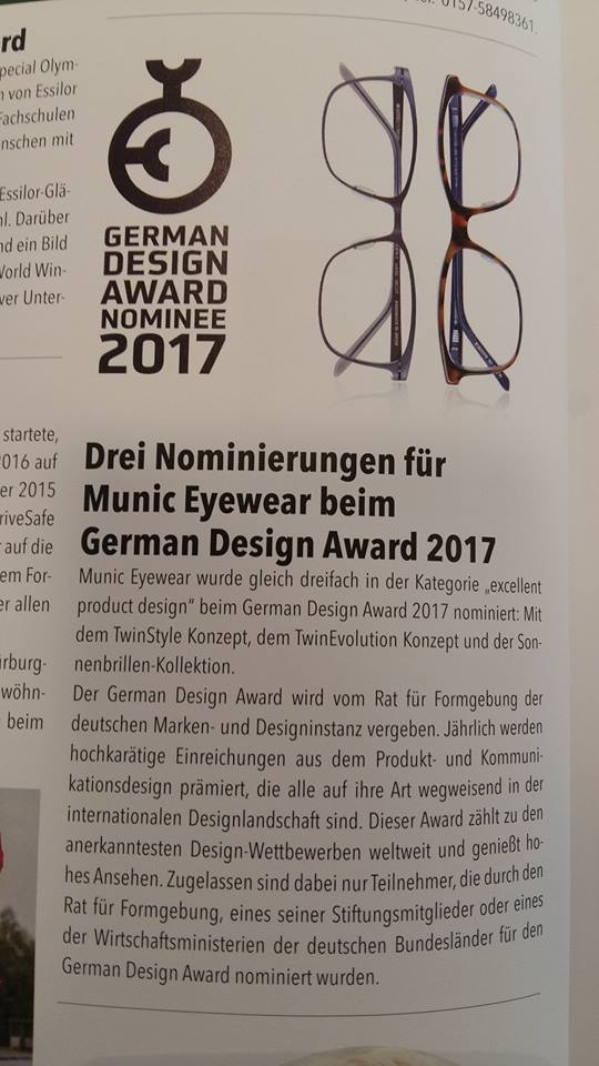 eye couture augenoptik nominierung german design award. Black Bedroom Furniture Sets. Home Design Ideas